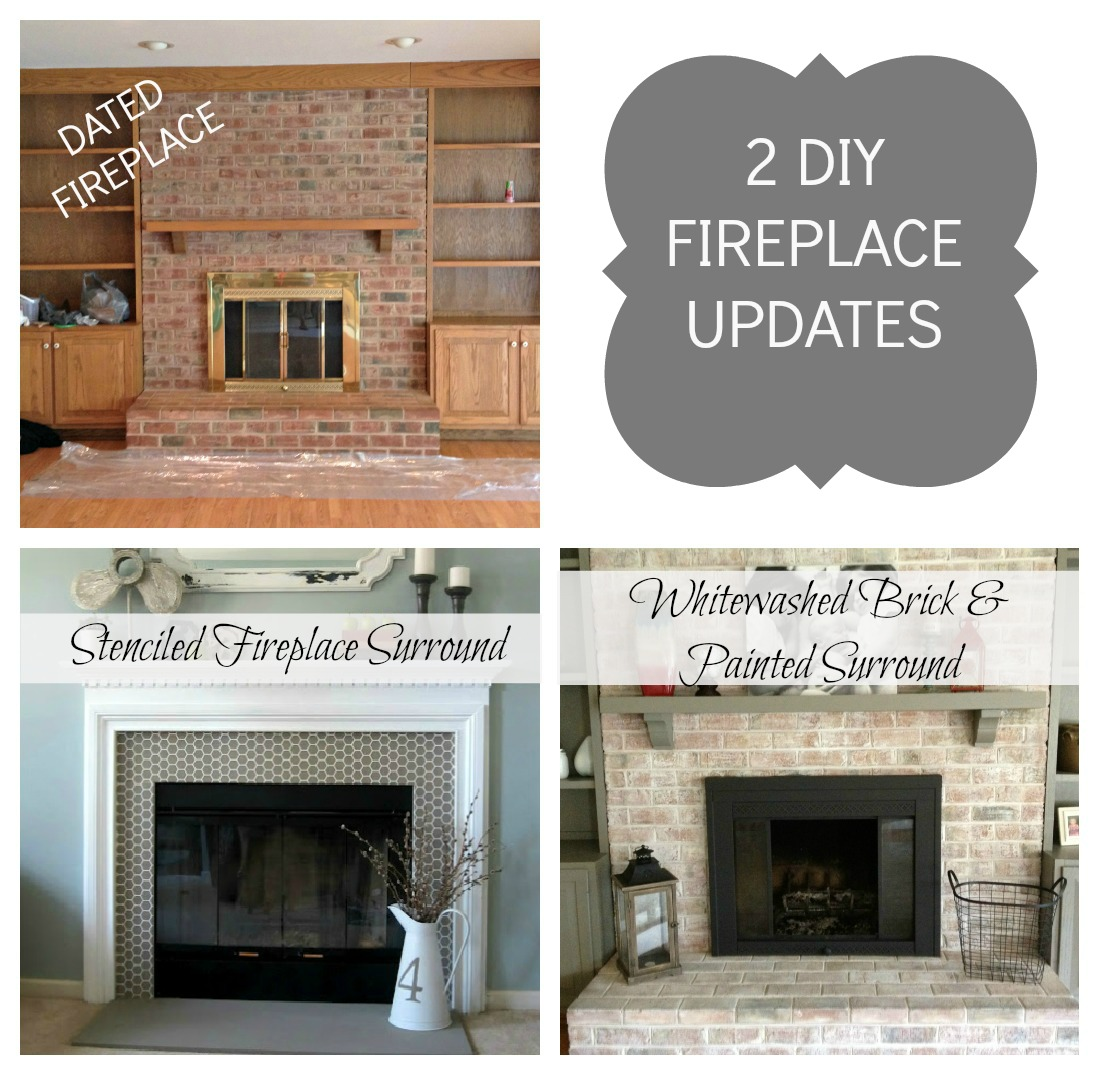 Brass Fireplace Update