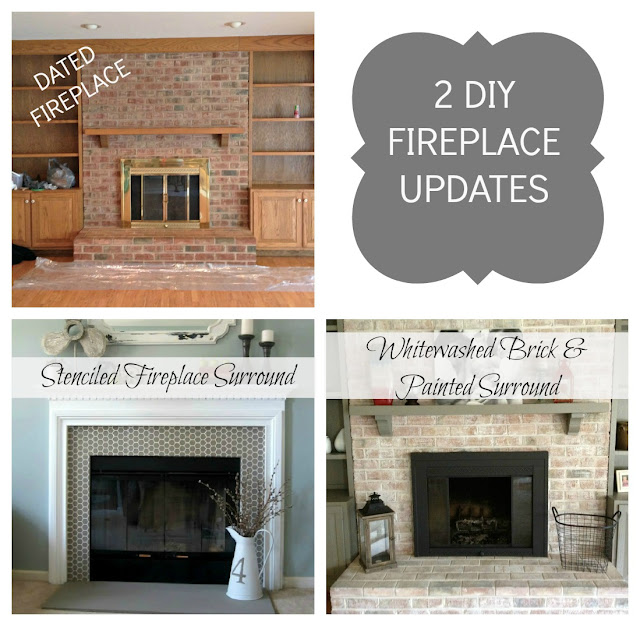 fireplace painting updates