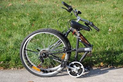 Columba folding bike