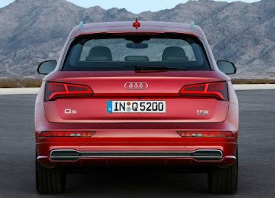 New Audi Q5 Back view Pics