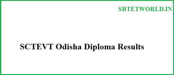 SCTEVT Results, SCTEVT Results 2017, SCTEVT Diploma Results, SCTEVT Diploma Results 2017, Odisha diploma Results, Odisha diploma Results 2017