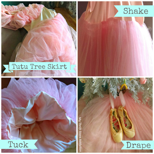 repurposed tutu tree skirt