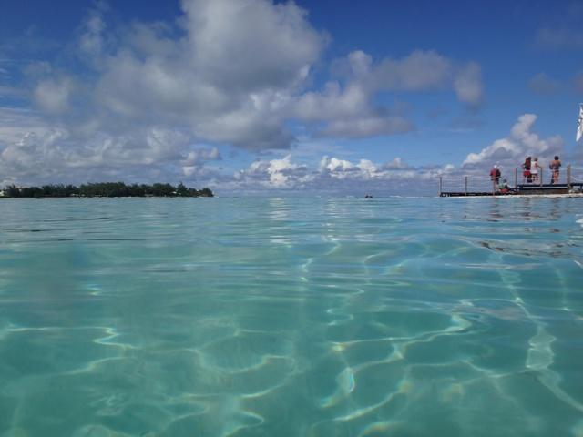 Cristalinas aguas en Ile des Deux Cocos