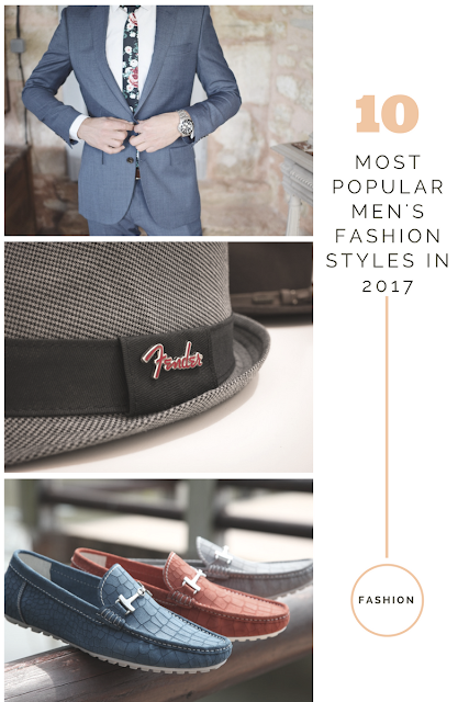 10 most popular men's fashion
