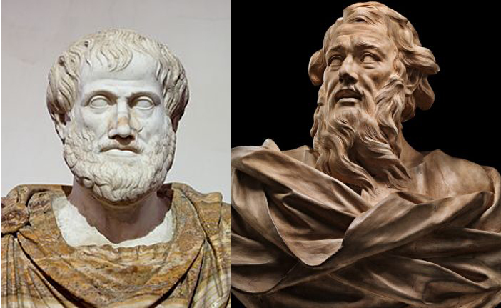 Do Aristotle and Paul agree on the primacy of the Church over the individual believer?  Thoughts at DTTB.