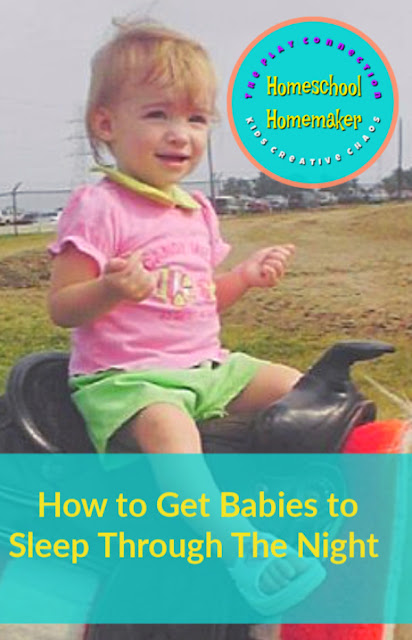 How to Get Babies to Sleep Through The Night Tips baby infant toddler