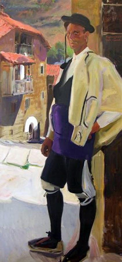 Tipo de Roncal, Joaquín Sorolla Bastida, Joaquín Sorolla Bastida, Retratos de Joaquín Sorolla, Joaquín Sorolla, Pintor español, Retratista español, Pintores Valencianos
