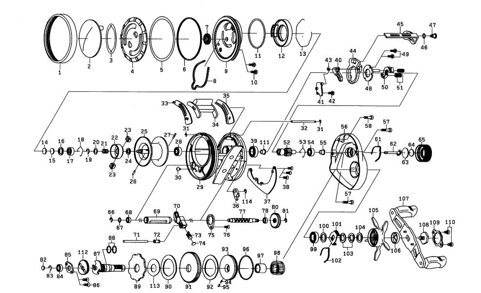 Team Daiwa Pluton 200 Schematics