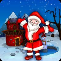 Games4Escape Xmas Santa Claus statue Rescue