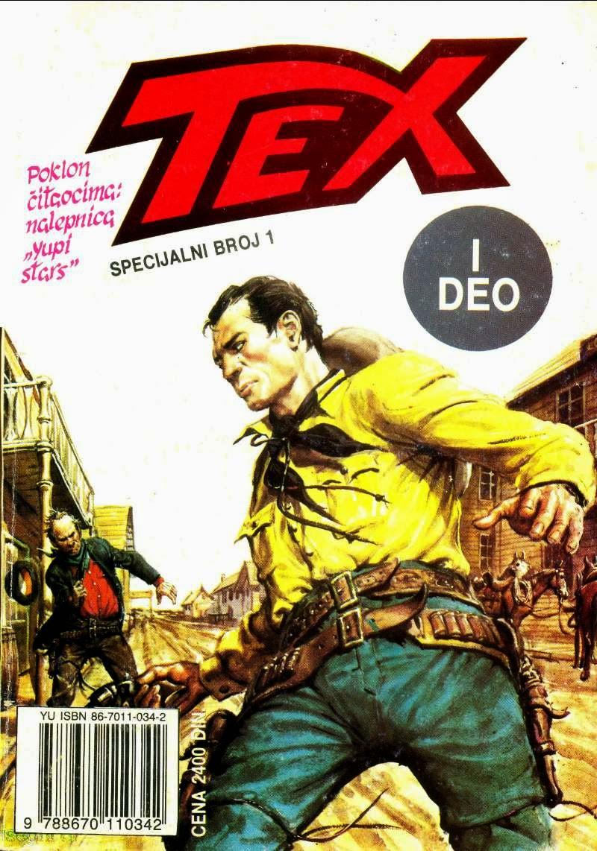 TEX 1 - (Veliki Tex) Specijal - Tex Willer