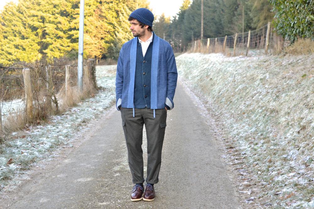 Coment porter un pantalon cargo en laine bonne gueule en size-up