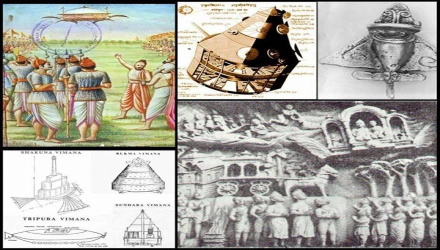 Οι μυστηριώδεις ιπτάμενες μηχανές vimana