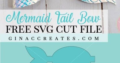 I Like Big Bows: FREE Mermaid Tails bow template for Faux