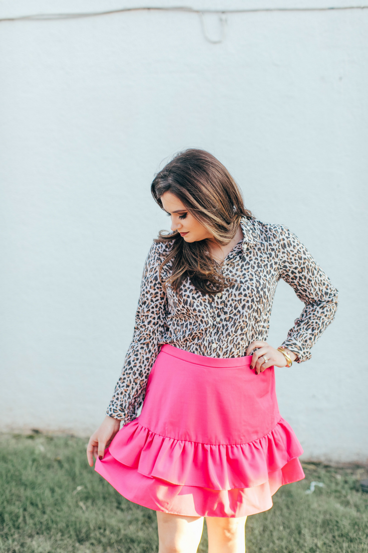Bold-Berry-Ruffle-Skirt