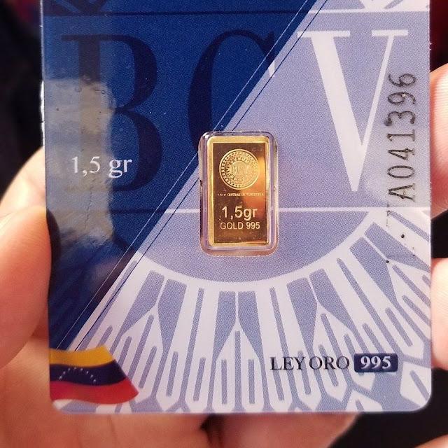 Régimen informa que venta de lingotes de oro será online y virtual - Nunca los verás en tus manos