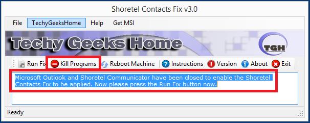 Shoretel Contacts Fix v3.0 Released 4