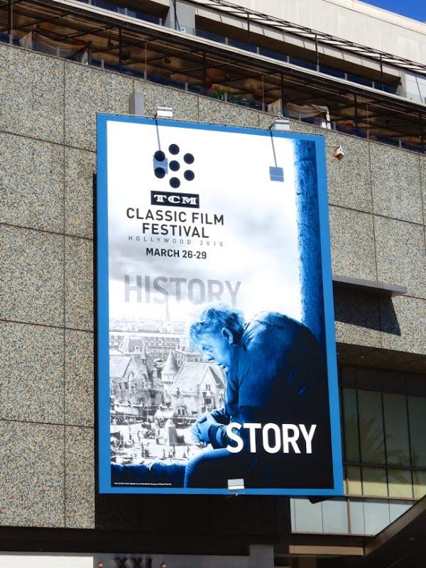 Hunchback of Notre Dame TCM Classic Film Festival billboard