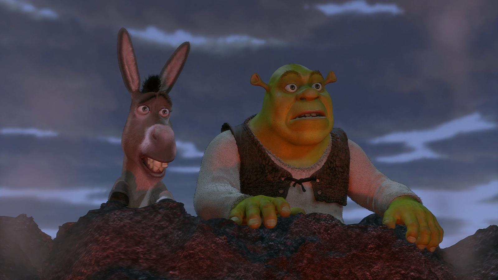 Shrek (2001) BRRip Full HD 1080p Latino - Ingles captura 3