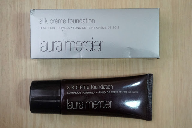 Laura Mercier Cosmetics Silk Crème Foundation in Cream Ivory