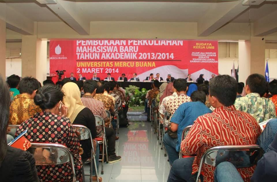 Acara Pengarahan Mahasiswa Baru Angkatan ke 24 dihadiri Oleh 3491 Orang Mahasiswa Baru