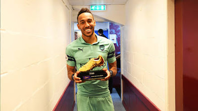 auba highest goal scorer