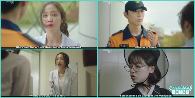 byeol i was no more a human but feel the pain and scold doctor for not coming before at the hospital , but the doctor can't see her - The Universe Star: Review (Three Color Fantasy)