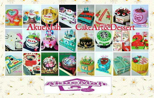 Pesan Kue Ulang Tahun Batam AkueMah Cake Art and Dessert