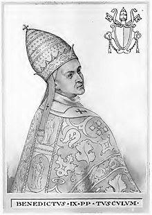 Pope Benedict IX (1032 and 1048)