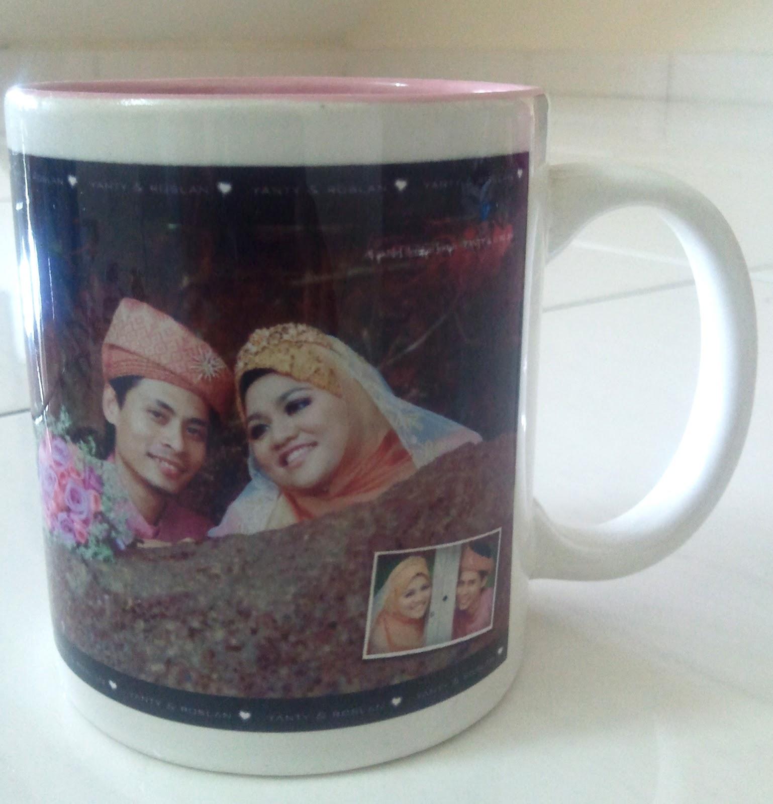 R Amp Zgift Cenderhati Perkahwinan Mug Printed Heat Press