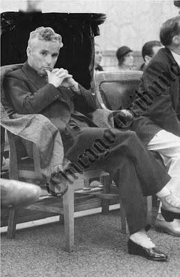 Чаплин в суде Лос-Анджелеса на слушании дела против Литы Грей, август 1932