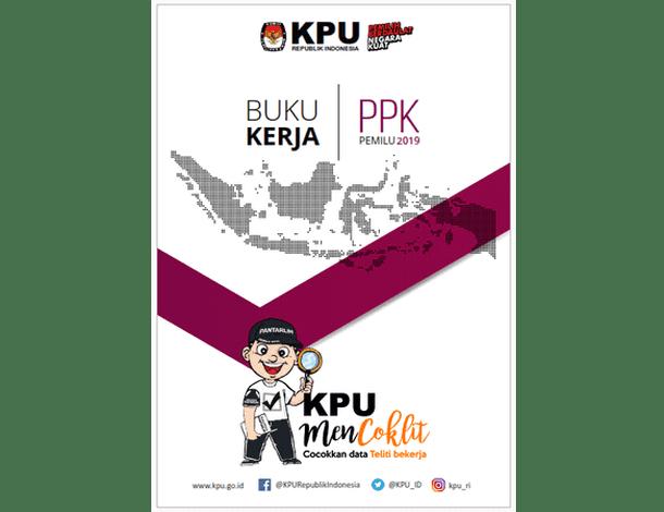 Buku Kerja PPK (Panitia Pemilihan Kecamatan) PEMILU 2019
