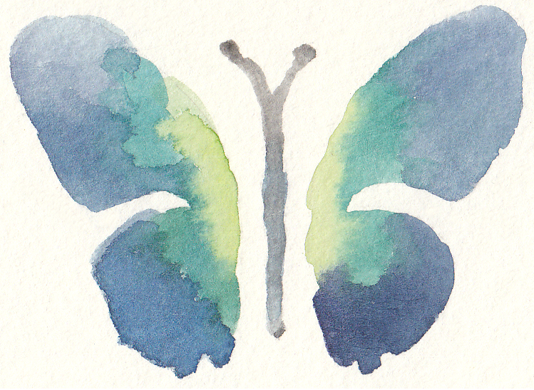 Free Watercolor Butterfly Clip Art