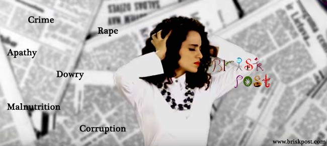 Kangana Ranaut looking freaking frustrated in patriotic song Love Your Country