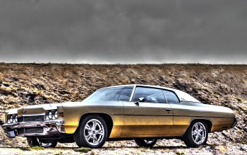 Wallpaper: Chevrolet Impala 1972