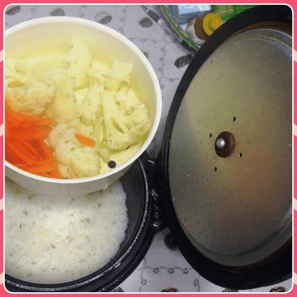 panela de arroz