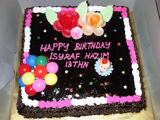 Kek Coklat Raya Yatibiz Official Blog Site