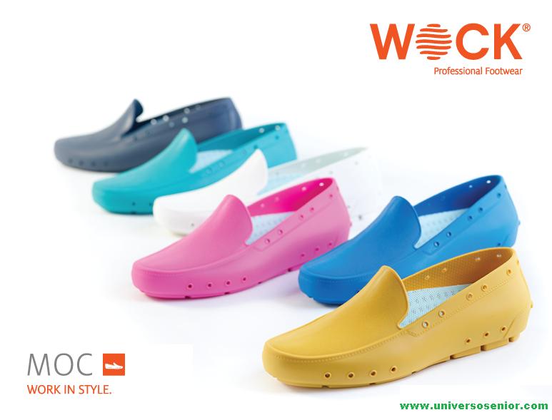 Sapatos profissionais Moc Wock