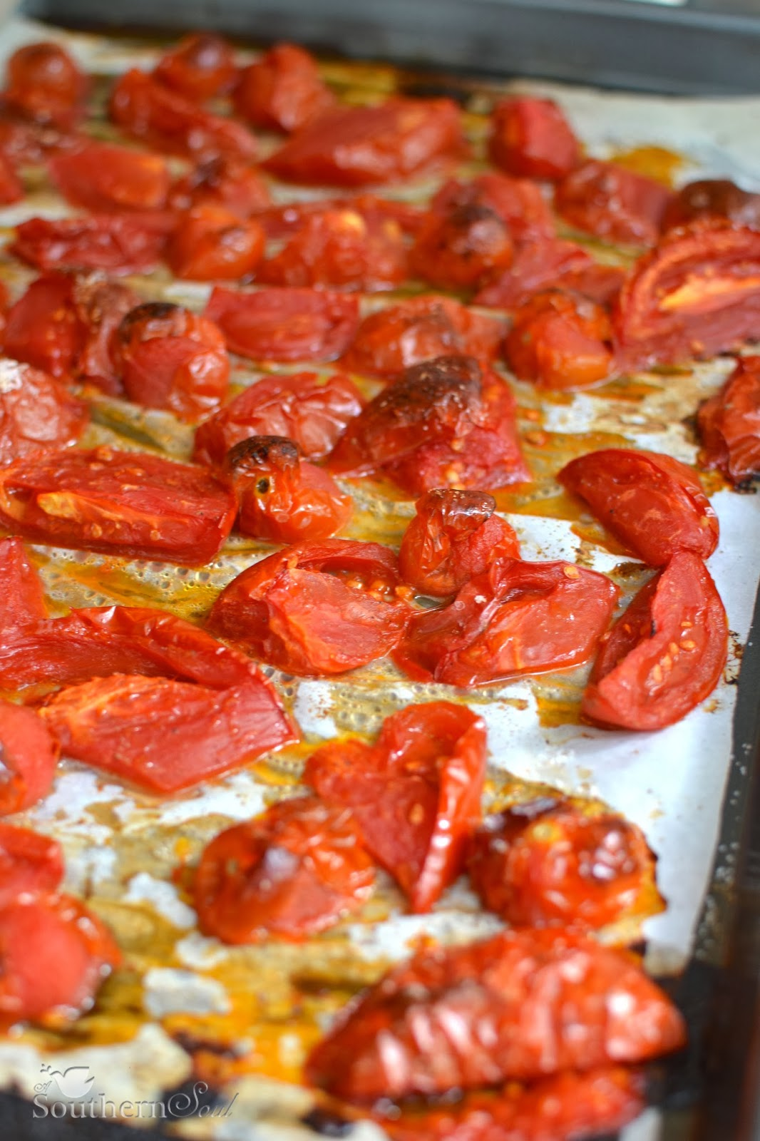Roasted Tomatoes Freezing Tips A Southern Soul