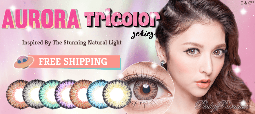 Free Shipping Aurora Tricolor series