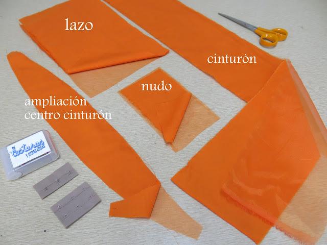 piezas del cinturón
