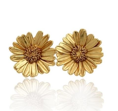 Thallo - bijuterii grecesti din flori naturale cercei
