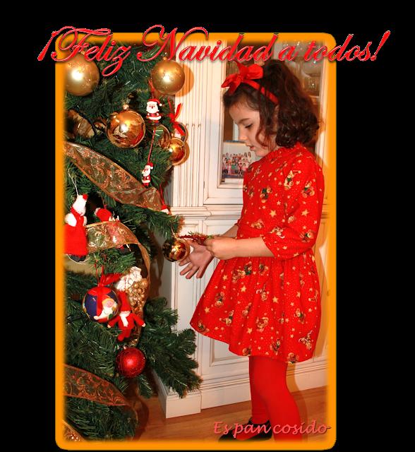 Vestido Feliz Navidad