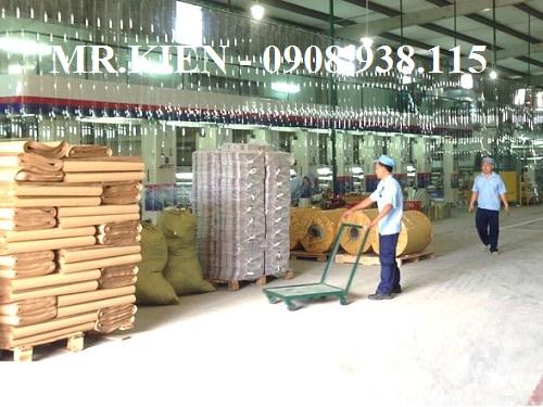 Lắp màn nhựa PVC Nhà máy In Ấn Hạnh Minh Thi