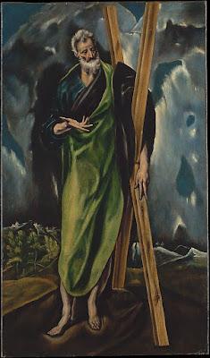El Greco (Domenikos Theotokopoulos) Saint Andrew