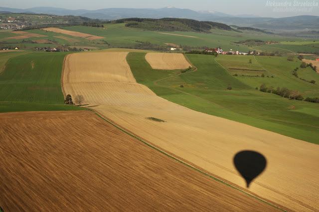 Lot balonem - relacja, wrażenia, przeżycia