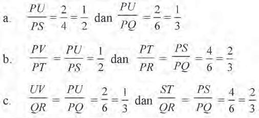 Materi Matematika Kelas 9 Dua Segitiga Sebangun Alfa Singasari