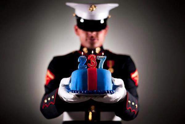Marine 237 Birthday Corps
