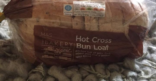 M&S Hot Cross Bun Loaf