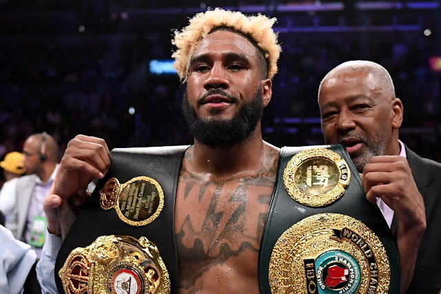 Unified Junior Middleweight Champion Jarrett Hurd