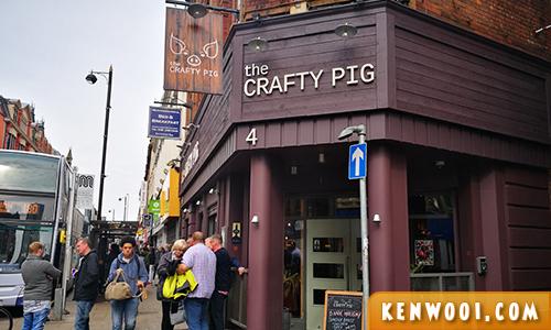 manchester crafty pig